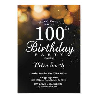 Tarjeta de la invitación del cumpleaños del