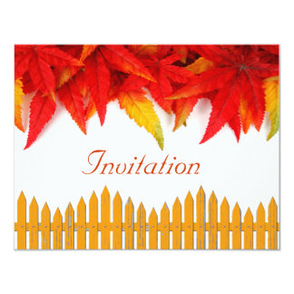 Tarjeta de la invitación del día de la acción de invitación 10,8 x 13,9 cm