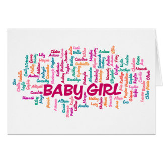 Tarjeta de la invitación del embarazo de la niña