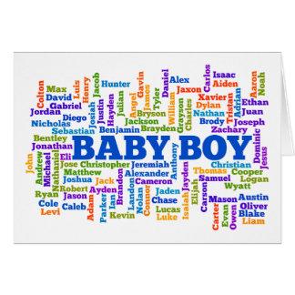 Tarjeta de la invitación del embarazo del bebé