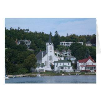 Tarjeta de la isla de Mackinaw