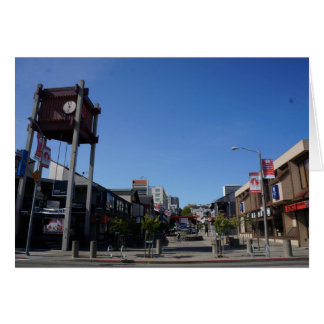 Tarjeta de la manera de San Francisco Japantown