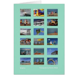 Tarjeta de la multi-imagen de Brighton