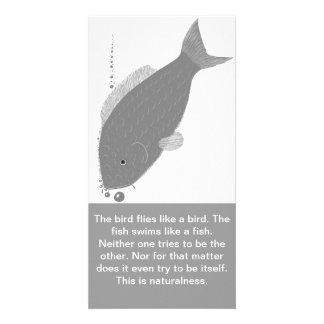 Tarjeta de la naturalidad tarjeta personal