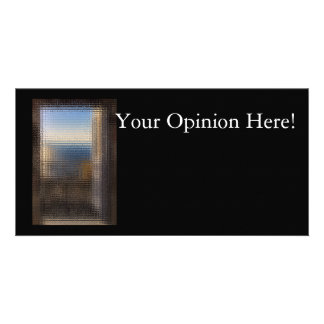 Tarjeta de la opinión tarjetas con fotos personalizadas