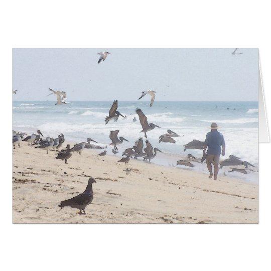 Tarjeta de la playa de California