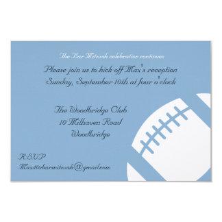 Tarjeta de la recepción de Mitzvah de la barra -
