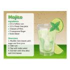 Tarjeta de la receta de Mojito