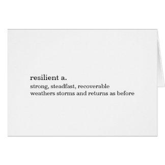 Tarjeta de la resistencia