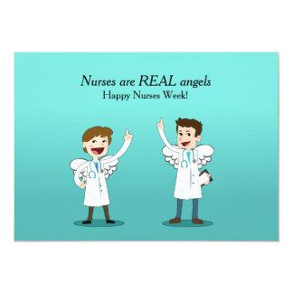 Tarjeta de la semana de las enfermeras de los invitación 12,7 x 17,8 cm