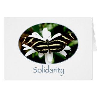 Tarjeta de la solidaridad