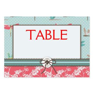 Tarjeta de la tabla del muchacho de sueños de la l plantillas de tarjeta de negocio