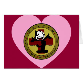 Tarjeta de la tarjeta del día de San Valentín de