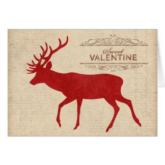 Tarjeta de la tarjeta del día de San Valentín de l