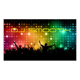 Tarjeta de la visita de DJ Tarjetas De Visita