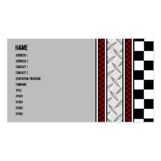 Tarjeta de la visita del mecánico plantillas de tarjetas de visita