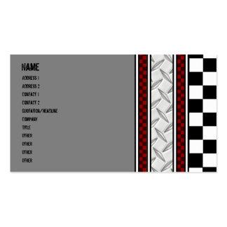 Tarjeta de la visita del mecánico plantilla de tarjeta personal