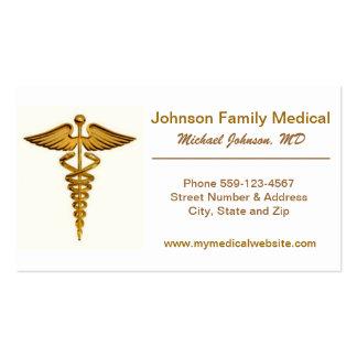 Tarjeta de la visita del médico/del médico tarjetas de visita