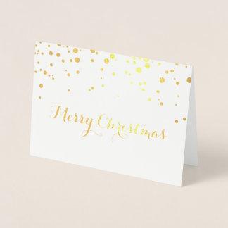 Tarjeta de las Felices Navidad del efecto