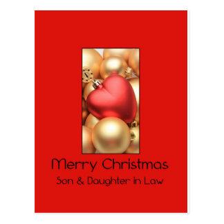 tarjeta de las Felices Navidad del hijo y de la Postal