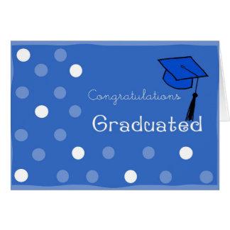 Tarjeta de las graduaciones
