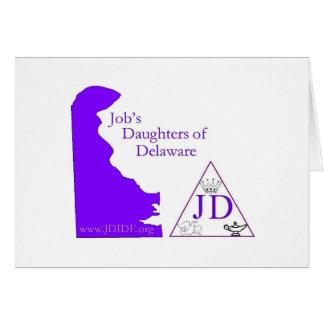 tarjeta de las hijas del trabajo