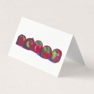 Tarjeta de las manzanas de Macintosh