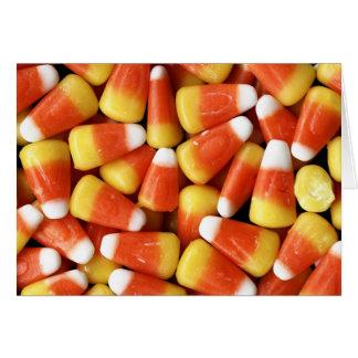 Tarjeta de las pastillas de caramelo