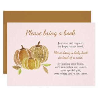 Tarjeta de libro de la fiesta de bienvenida al