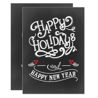 tarjeta de los días de fiesta del navidad del