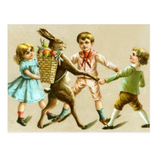 Tarjeta de los niños del Victorian de la danza del