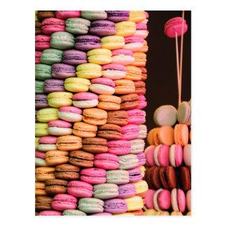 Tarjeta de Macarons