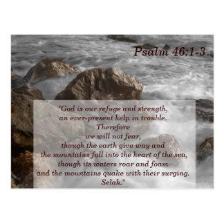 Tarjeta de memoria de la escritura 1-3 del salmo