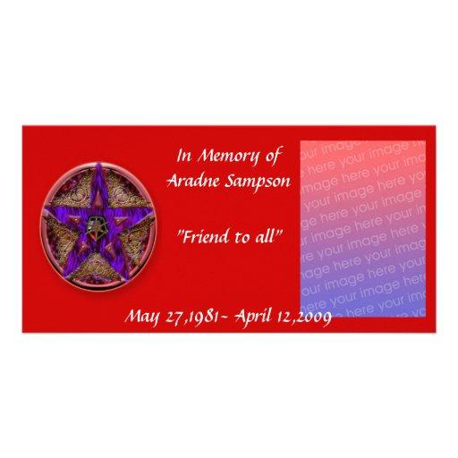 tarjeta de memoria de la familia (pagan) tarjeta personal