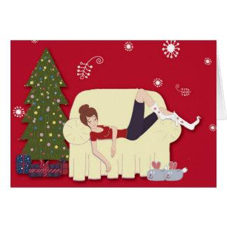 Tarjeta de Navidad crónica