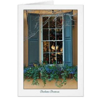 Tarjeta de Navidad de Charleston