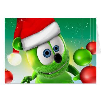 Tarjeta de Navidad de Gummibär