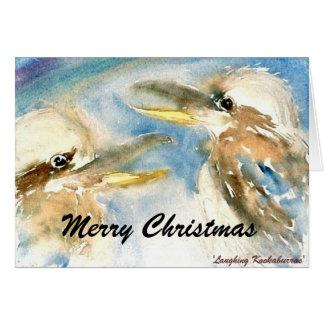 Tarjeta de Navidad de Kookaburra