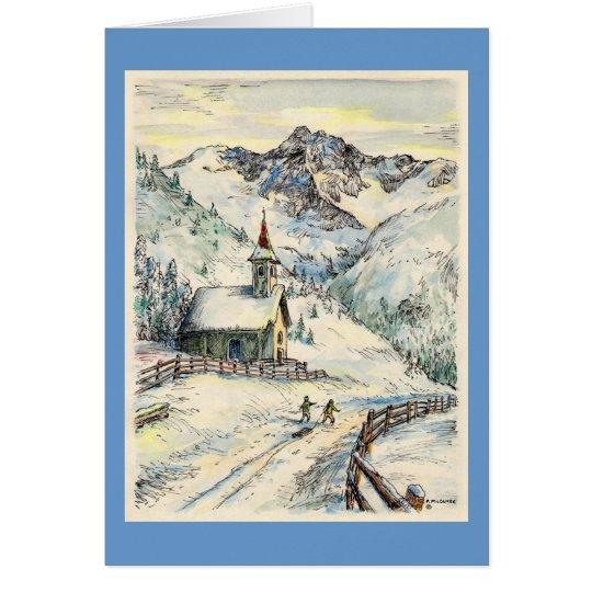 Tarjeta de Navidad de la capilla de Paul McGehee