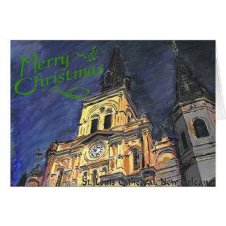 Tarjeta de Navidad de la catedral de St. Louis