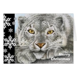 Tarjeta de Navidad de la onza