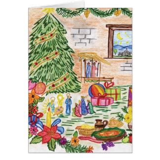Tarjeta de Navidad de Lisbeth