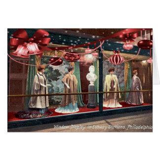 Tarjeta de Navidad de Philadelphia (comienzo del