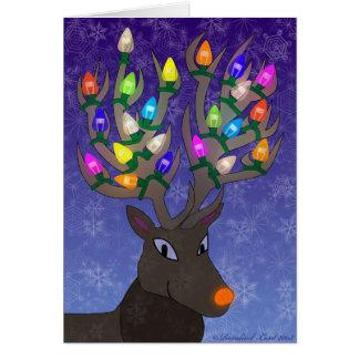 Tarjeta de Navidad de Rudolf