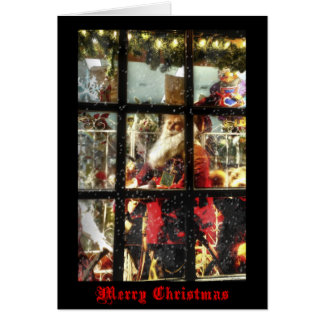 Tarjeta de Navidad de Santa