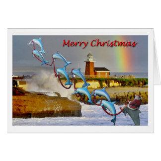 Tarjeta de Navidad de Santa Cruz de Santa y de los