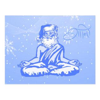 Tarjeta de Navidad de Santa de la paz (Shanti)