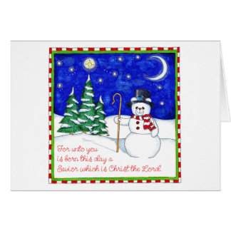 Tarjeta de Navidad de Snowbear