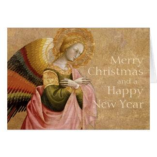 Tarjeta de Navidad del ángel CC0606 del anuncio de