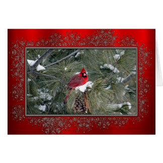 Tarjeta de Navidad del cardenal 3093